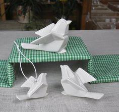 Ceramic Origami Bird