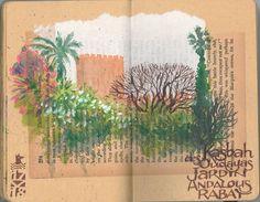 Oudayas Kasbah, Andalous Garden, Urumo.