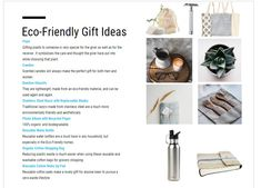 Are you looking for an eco-friendly gift that is not harmful to the earth? If you're worried about the environment, it can be difficult for you to buy more things for Christmas. We're getting stuff we mostly don't need which are also a synonym of mass consumption.