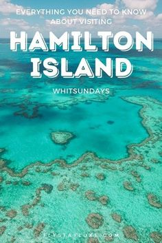 Dreaming of a holiday in the Whitsundays? Hamilton Island is the perfect place to start. This Hamilton Island Travel Guide has all the best places to stay, eat and play.travel guid