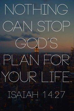 Bible Verse   God's Plan   Isaiah