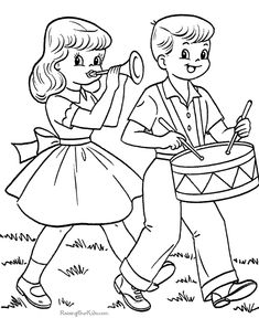 Drummer Boy And Girlfriend In Fourth Of July Coloring Pages : Kids Play Color Crayola Coloring Pages, Easter Egg Coloring Pages, Coloring Sheets For Kids, Bible Coloring Pages, Free Printable Coloring Pages, Adult Coloring Pages, Coloring Books, Boy Coloring, Coloring Pictures For Kids