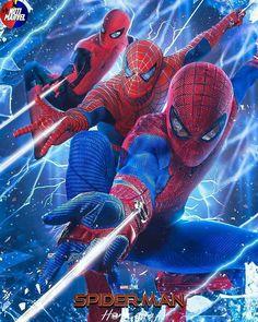 New Spiderman Movie, Spiderman Pictures, Spiderman Art, Amazing Spiderman, Spiderman Poster, Marvel Avengers Movies, Marvel Art, Marvel Heroes, Marvel Characters