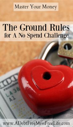 Ever wonder what goes in to the Ground Rules for a No Spend Challenge? The strategy I share helps to ensure you're saving money and managing your budget appropriately all month long but is completely dependant on your specific needs! No Spend Challenge, Savings Challenge, Money Saving Challenge, Living On A Budget, Frugal Living Tips, Frugal Tips, Frugal Family, Money Saving Mom, Best Money Saving Tips