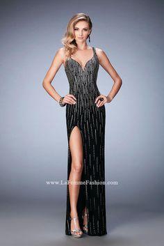 Shop for La Femme prom dresses at PromGirl. Elegant long designer gowns d93a44ccccf7
