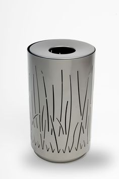 Landscapeforms Lakeside litter bin | Bailey Artform | ESI External Works