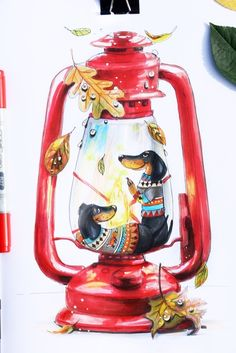 Disney Drawings, Cartoon Drawings, Art Drawings, Holly Pictures, Illustrations, Illustration Art, Plant Art, Animal Sketches, Beautiful Drawings