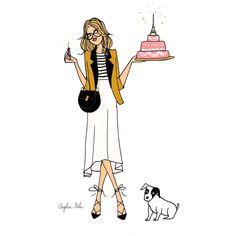 Bon ça y est ... J'ai 30 ans !  #angeline30ans illu pour #doitinparis #birthdaygirl