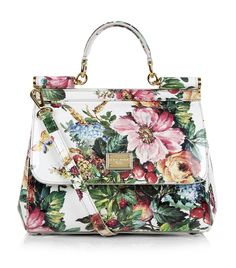 9f0c342dafd2 GUESS Linea Floral-Print Logo Box Satchel ( 118) ❤ liked on ...