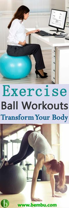 Exercise balls are fun, easy-to-use and are loved by physiotherapists the world over for their extremely powerful benefits... \Health Tips │ Health Ideas │Healthy Food │Health │Food │Workout │Desserts │yoga │Weight Loss │Diet │Fitness #Health #Ideas #Tips #Vitamin #Healthyfood #Food #Desserts #Workout #Yoga #Weightloss #Diet #Fitness