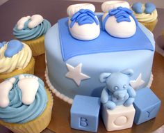 Petit pied de bebe #shower #bébé #gateau #cake #montreal #baby