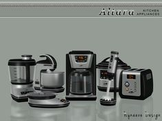 Altara Kitchen Appliances by NynaeveDesign - Sims 3 Downloads CC Caboodle