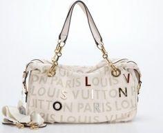 Louis Vitton Totes 07831 Offwhite Full Grain Leather