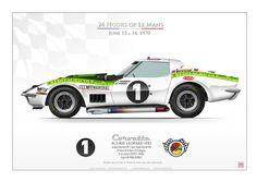24 Hours of Le MansJune 13 & 14, 1970ECURIE LÉOPARD (FR)Jacques Bourdon (FR) / Jean-Claude Aubriet (FR)24 Hours of Le Mans, GTS Category.Engine V8 440Hp (6998cc) Abandon après 37 tours et 5 heures de course suite à une sortie de piste