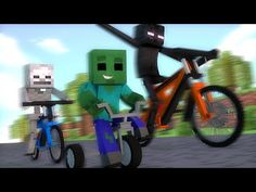 Minecraft : CORRIDA DE BICICLETAS - Escola Monstro Férias #02 | Monster School Minecraft - Best sound on Amazon: http://www.amazon.com/dp/B015MQEF2K -  http://gaming.tronnixx.com/uncategorized/minecraft-corrida-de-bicicletas-escola-monstro-ferias-02-monster-school-minecraft/