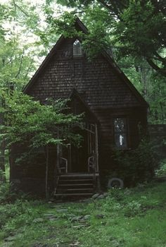 My little cottage in the woods.