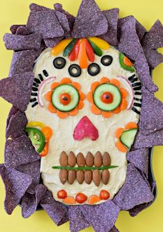Day of the Dead hummus