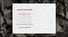 WeddingEve by Hüfner Design, Tim Hüfner, Wedding, Stationary, Papeterie, Design: Simple Pomp Save the Date
