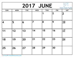 template calendar 2017