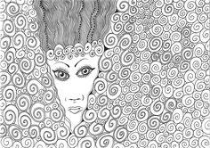 """""""morning queen"""", #Zeichnung #Pigmenttusche (Staedtler Pigment Fineliner) auf #Hahnemühle #Papier """"Nostalgie"""", 190 g/m2 21 x 29,7 cm, © #matthias #hennig 2018    """"morning queen"""", #india #ink #drawing (Staedtler Pigment Fineliner) on Hahnemühle #paper ,190 g/sqm 21 x 29,7cm, © #matthias #hennig 2018 #mySTAEDTLER #hennigdesign #artwork #moremoneyforlivingartists #unbelievable Staedtler, Drawing, Artwork, Women, Nostalgia, Work Of Art, Auguste Rodin Artwork, Sketches, Artworks"""