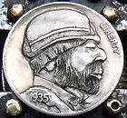Hobo nickel by Larry Foster