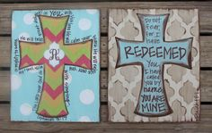 Truth Be Told Art Large Cross Design-Original by TruthBeToldArt Canvas Crafts, Diy Canvas, Canvas Art, Canvas Ideas, Cross Canvas Paintings, Hand Painted Crosses, Bible Verse Canvas, Vbs Crafts, Wood Crafts