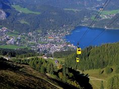 Sankt Gilgen is a picturesque village by the Wolfgangsee