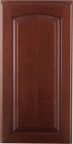 Crown Cabinets  Ridgeline Roman Knotty Cherry Latte Black Glaze Kitchen Door Designs, Kitchen Cabinets Decor, Kitchen Doors, Crown Cabinets, Black Texture Background, Wooden Main Door Design, French Bed, Traditional Kitchen, Cabinet Doors