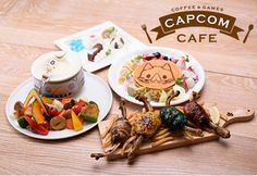 Japanese Video Game Cafes - The Capcom Cafe Serves Themed Meals and Offers Exclusive Game Previews (GALLERY)