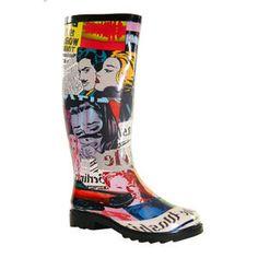 Henry Ferrera Faces Rain Boots