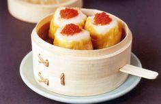 Dim Sum  http://www.channel4.com/4food/recipes/chefs/taste-festivals/taste-of-london-yauatcha-scallop-shumai-recipe#