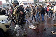 Two Bombings Kill Dozens at a Baghdad Market - NYTimes.com