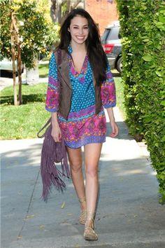 Chloe Bridges in style#323