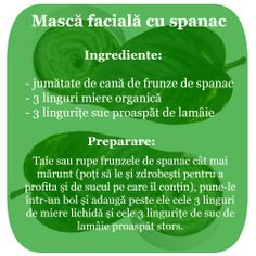 Masca faciala cu spanac Home Remedies, Homemade, The Body, Interview, Remedies, Diy Crafts, Do It Yourself, Home Health Remedies, Home Made