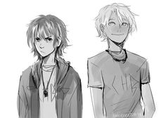 opposites attract | Nico di Angelo and Will Solace