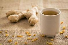Ginger tea is soothing, refreshing and easy to make.
