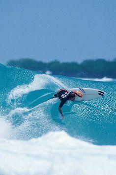 surfing Andy, Indo Photo: Ellis