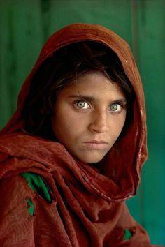 Unutulmaz Afgan kızı