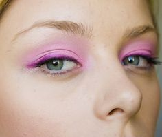 pink eyeshadow & liner make-up photography & make-up: diana ionescu products: costal scents 88 palette