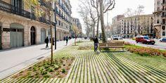 passeig de st. joan boulevard // lola dome #design #architecture #landscape #public space