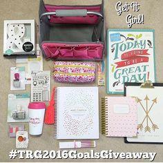 #trg2016goalsgiveaway