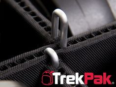 TrekPak is an innovative padded  insert for protecting your gear in your favorite backpack or hard case. It uses  a unique, patent-pending pin system that makes it easy to adjust dividers as  your gear needs change!