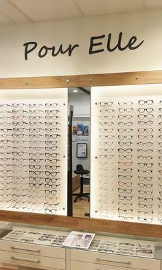 Showroom JCDA - agencement de l'espace lunettes pour femme