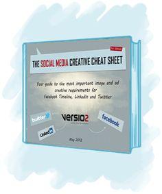 Versio2 Social Media Cheat Sheet