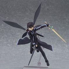 Anime Figma 289 Sword Art Online ALOver Kirigaya Kazuto PVC Action Figure Collectible Model