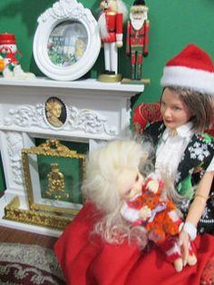 Mrs. Claus tells Wren a story...