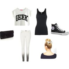 """Geek style"" by kowiak on Polyvore"