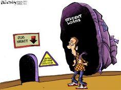 American Debt Cartoons