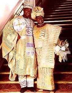 Traditional Nigerian Wedding attire! Beautiful!