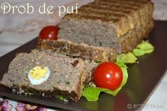 drob de pui Dukan Diet, Meatloaf, Tiramisu, Deserts, Food And Drink, Cooking, Crafts, Kitchen, Manualidades
